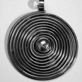Wisior spirala